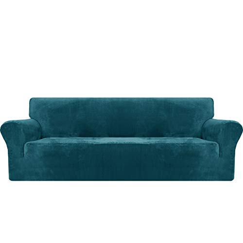 MAXIJIN Fundas de sofá extragrandes de Terciopelo Grueso, 4