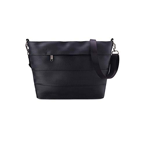 Eco-Friendly Vegan Sling Bag - By Paguro. 100% Vegan Ladies Shoulder or Crossbody Bag Made From Leather Alternative. For Travel, Work, Casual. Sustainable Fashion, Ethically Produced, Fair Trade.