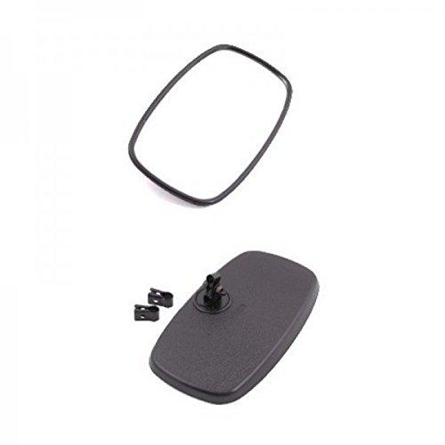 Rückspiegel für Schlepper Traktor Spiegel 260x148mm schwarzes Kunststoffgehäuse
