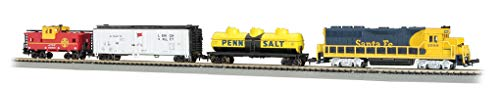 Bachmann Trains - Thunder Valley Ready To Run Electric Train Set - N Scale