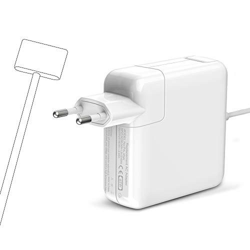Mac Book Air-Ladegerät 45W, Magsafe2-Netzteil T-Stecker Mac Book Pro Ladekabel Kompatibel mit MacBook 11-Zoll und 13-Zoll-MacBook Pro für A1435 A1436 A1465 A1466 Mi 2012(Vor Modellen von Mitte 2012)