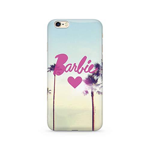 Estuche para iPhone 6/6S Barbie Original con Licencia Oficial, Carcasa, Funda, Estuche de Material sintético TPU-Silicona, Protege de Golpes y rayones