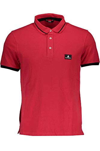 Karl Lagerfeld Polo Herren Größe: L, Farbe: Rot #120834_L