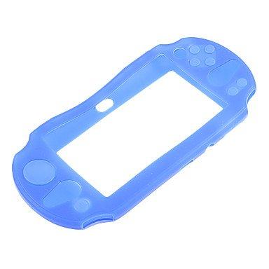 Custodia in silicone per PSVita , Blu