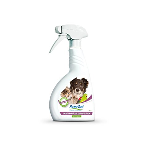 Huwa-San Pets Haustier Desinfektion Hygiene- und Umgebungsspray (500ml)