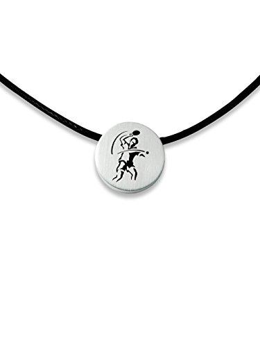 C2 Sportschmuck Halskette Tischtennis 1x-R
