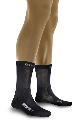 X-Socks Chaussettes de Day by Day Noir Noir 3