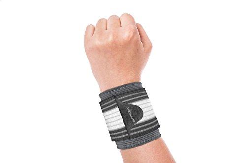bonmedico Osto, Elastische Handgelenk-Bandage für Damen und Herren, Hand-Bandage