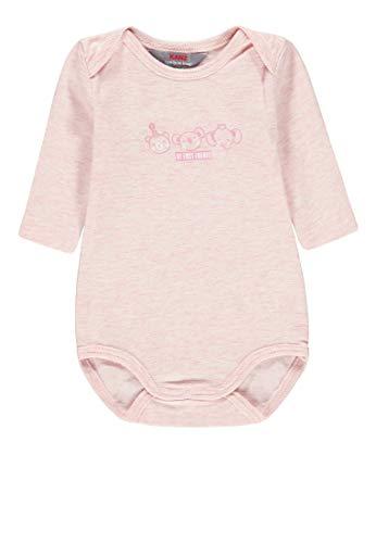 Kanz Baby-Mädchen 1/1 Arm Formender Body, Rosa (Ballerina Melange|Rose 8294), (Herstellergröße: 50)