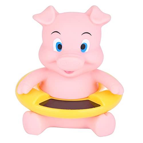 Zerodis Bebé Termómetro de Baño Infantil Animales Lindos Bañera Flotante Piscina Probador de Temperatura del Agua para Niños Recién Nacidos Niños(Pink Pig)