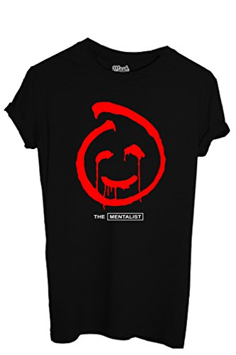 MUSH T-Shirt The Mentalist Red John-Serie TV by Dress Your Style - Homme-XL Noir