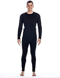 Noble Mount Men's 2pc Waffle Thermal Underwear Set