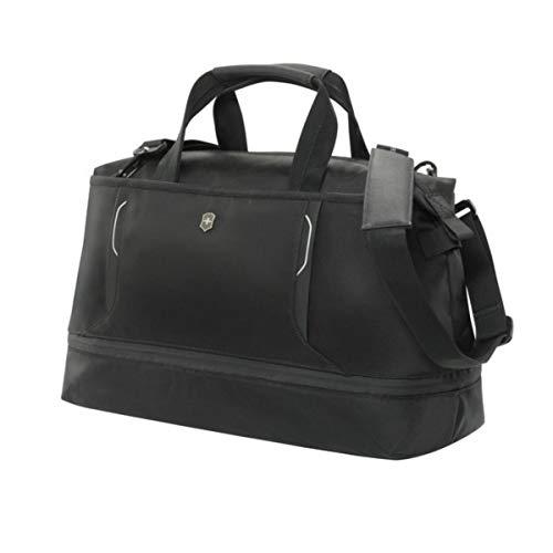 Victorinox Werks Traveler 6.0 Weekender Bag with Zipper Expansion, Black, 12.6-inch