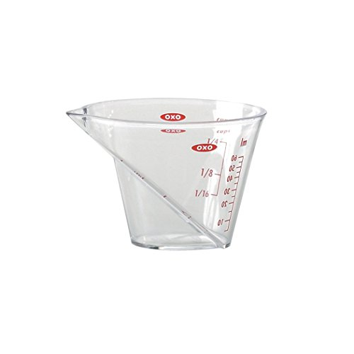 OXO Good Grips Angled Measuring Cup, Mini, Clear