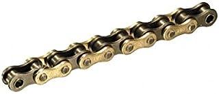 AFAM Kette R1 Teilung 420, Länge 136 | Ausführung: verstärkt | mit Clipschloss | Kettenfarbe: gold, passend für: Cpi SX 50 Bj. 2006 2012