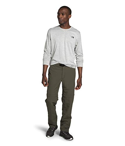 The North Face Men's Paramount Trail Convertible Pant, New Taupe Green, 34 Long