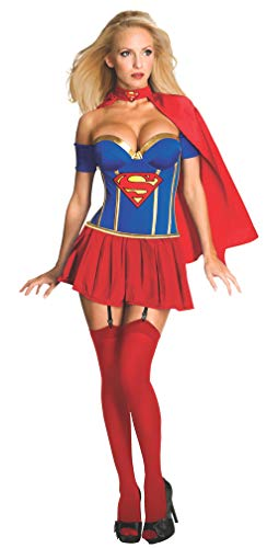Supergirl - Disfraz de halloween para mujer, talla M (38 - 40) (889898M)