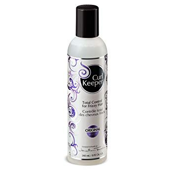 CURLY HAIR SOLUTIONS Curl Keeper Original - Total Control In All Weather Conditions For Well Defined, Frizz-Free Curls With No Product Build Up (8 Ounce /240 Milliliter)