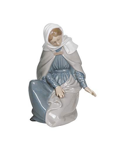 NAO Figura Virgen. Virgen Maria de Porcelana