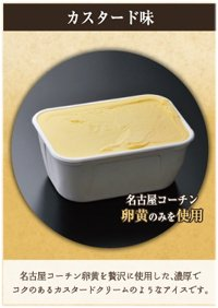 名古屋コーチンアイス カスタード味 ビックカップ