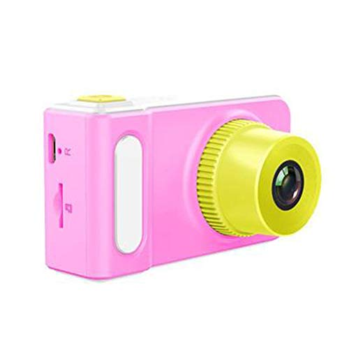 FXNB Kinder-Digitalkameras, Mini-Spielzeug können Bilder wiederaufladbare Kamera Nehmen Sich zum Kind-Baby-Geschenke Geburtstags-Geschenk neuen Jahr-Geschenk, für Spiele im Freien,Rosa