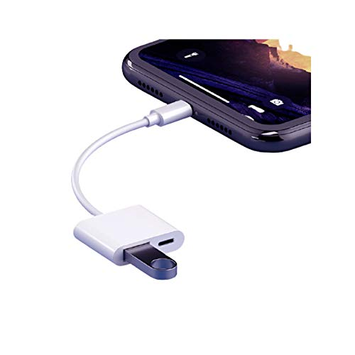 Adaptador De Cable USB 2.0 OTG - Cable De Datos Disco U Externo U Adecuado para Apple OTG Adapter Solution Lector De Tarjetas Móviles
