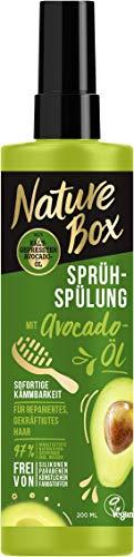 Nature Box Sprüh-Spülung Avocado-Öl, 6er Pack(6 x 200 ml)