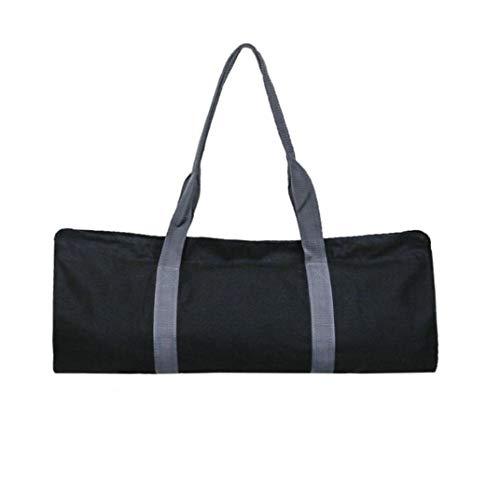 NaiCasy Yoga Mat Bolsa de Almacenamiento Pilato Correa para el Hombro portadores de múltiples Funciones del paño de Oxford de Yoga Pilates Mat Negro