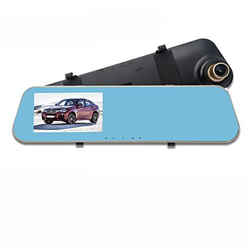 MASO Rétroviseur Vidéo, Caméra de tableau de bord écran tactile 4,3\