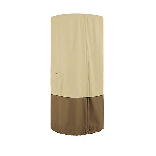 LMDH Stand-Up Patio calefacción de la Pantalla, 420D Oxford Tela Impermeable a Prueba de Polvo y Snowproof Cubierta a Prueba de Viento, for el Calentador de Aire