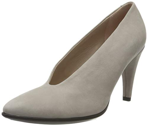 Ecco Damen SHAPE75POINTY Pumps, Grau (Grey Rose 2386), 38 EU