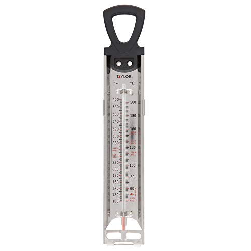 Taylor Precision Products RA17724 Taylor Candy And Jelly Deep Fry Thermometer, 1 EA, Multicolor