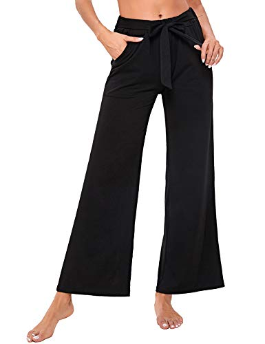Sykooria Pantalones De Yoga para Mujer, Pantalones De Deportivos Jogging, Pantalones Campana...