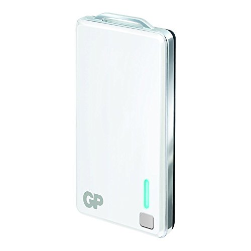 GP Batteries Powerbank 343 mobiele accu oplader USB (4000mAh) voor smartphone/action-cam enz. 10400mAh wit