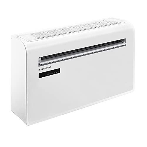 TROTEC Wandklimaanlage PAC-W 2600 SH 4-in-1 Klimagerät Klimaanlage ohne Außeneinheit 2,6 kW 9.000 Btu/h Smart Home
