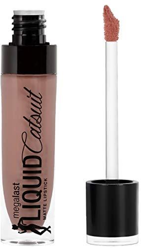 Wet n Wild Megalast flüssiger Lippenstift mit metallischem Finish, farbintensiv, ultralang anhaltend ohne aufzufrischen, Nudie Patootie, 1 Stk, 8,3g