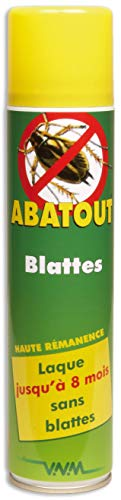 Abatout Laque Anti-Blattes/Cafards 405 ml