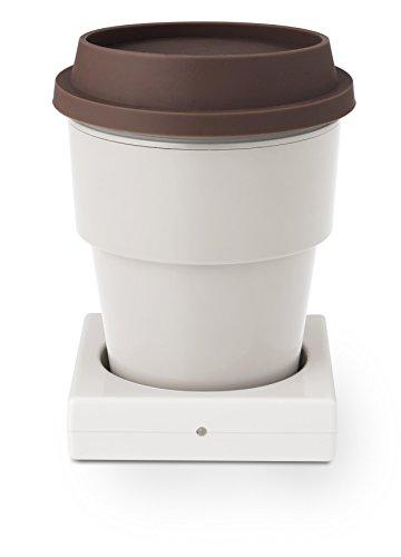 Green House GH-CUPA-IV - Calentador de tazas (USB, color marfil)