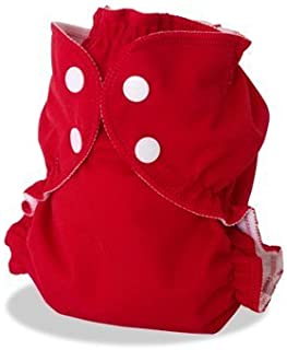 Apple Cheeks Envelope Cloth Diaper Cover, Cherry Tomato