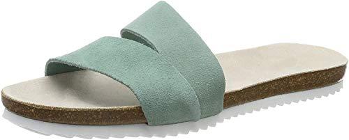 ESPRIT Damen Kendal Slide Pantoletten, Grün (Light Aqua Green 390), 38 EU