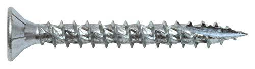Formel F Allzweckschraube - Spanplattenschrauben, Universalschrauben inklusive Bit / Vollgewinde / 4 x 35 mm / 500 Stück