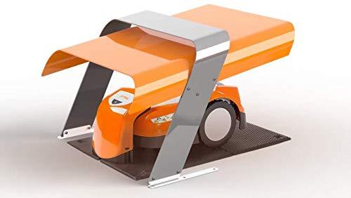 Idea Mower Sthil iMOW Maehroboter Garage