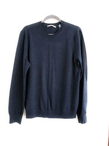 Vince Lightweight Indigo 100% Merino Wool Size M Sweater