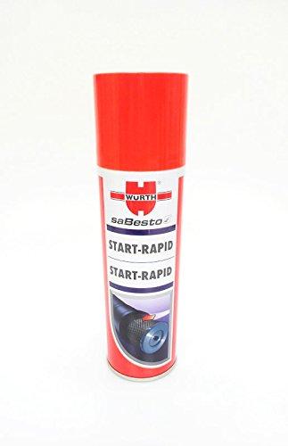 Preisvergleich Produktbild 2 x Würth Starthilfespray transparent (4024835087629) 300ml Starterspray