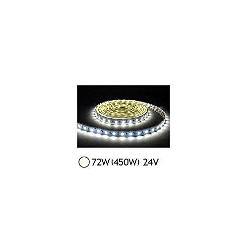 Bandeau LED 72W (450W) 24V IP20 (nu) Blanc jour 4000°K