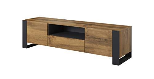 mobile tv 180 cm BIM Furniture - Mobile basso per TV Nunki