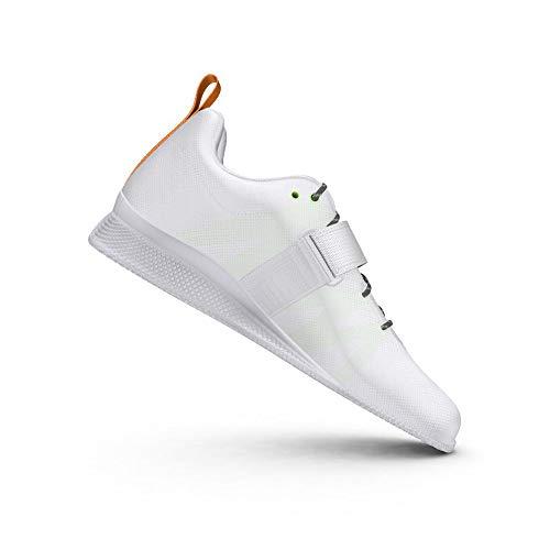 adidas Adipower Weightlifting II, Zapatillas Halterofilia Mujer, Balcri/GRISEI/Dorsol, 43 1/3 EU