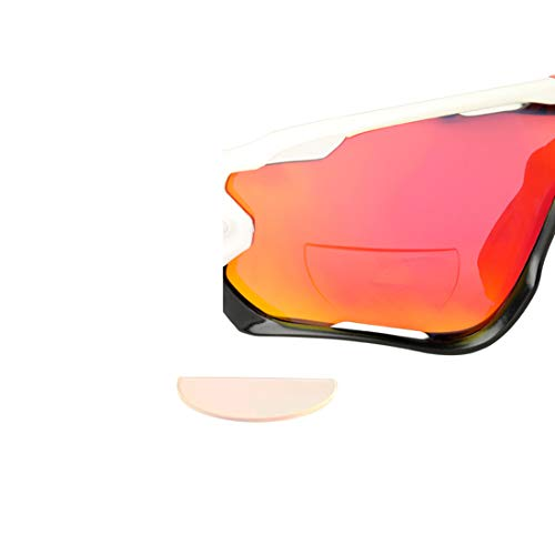 Stick On Bifocal Lenses Reader Magnifying Adhesive Reading Lens Sticker Cycling Sunglasses Bike Glasses Magnifier Add On (Transparent, 2.0)