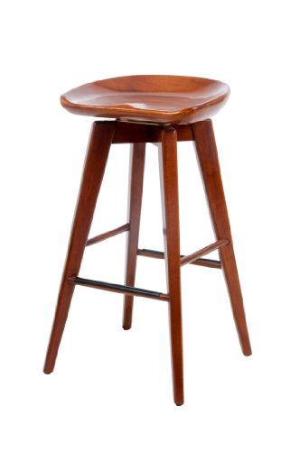 Boraam Bali Bar Height Swivel Stool