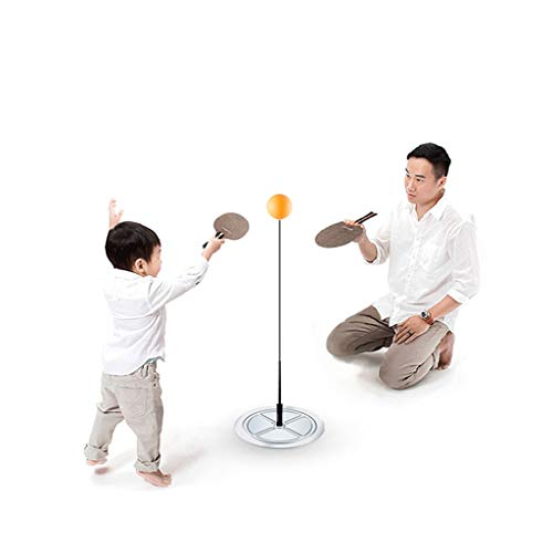 Fantastic Deal! YONGMEI Table Tennis Rebound Trainer with Elastic Soft Shaft, Table Tennis Practice ...